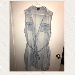 Tops - Blue jean top